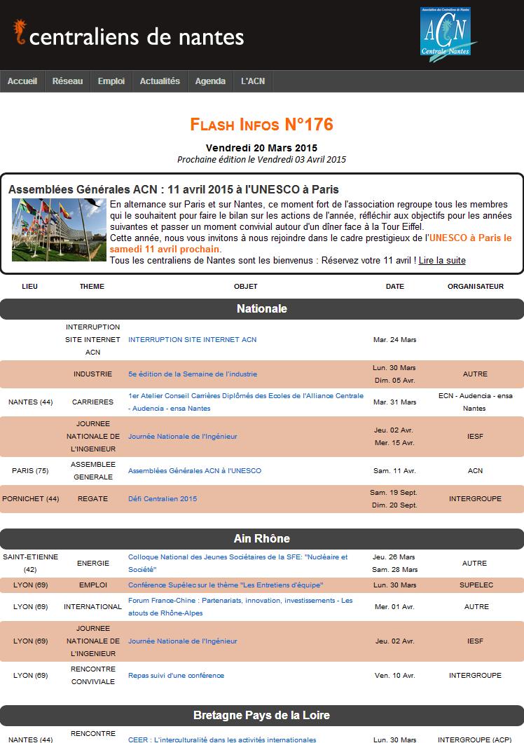 Flash Infos 176