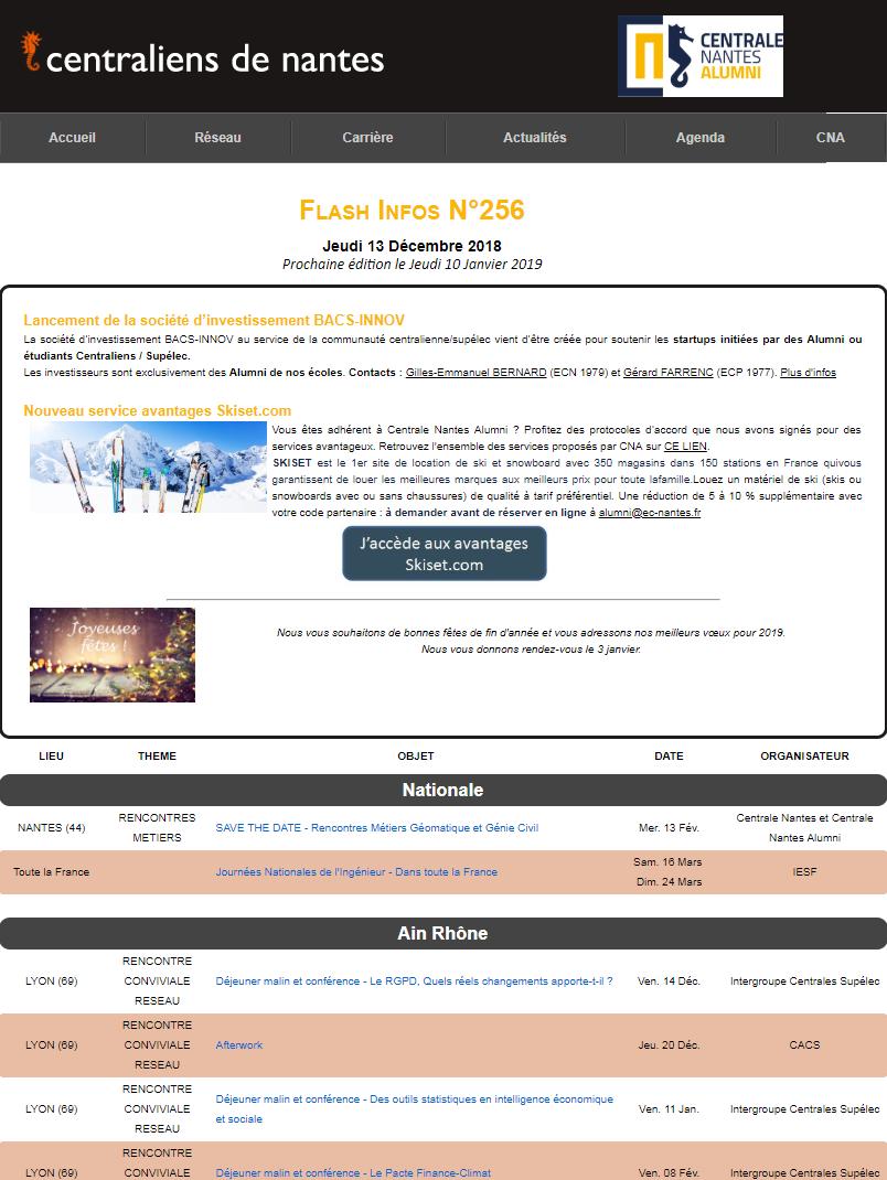 Flash Infos 256