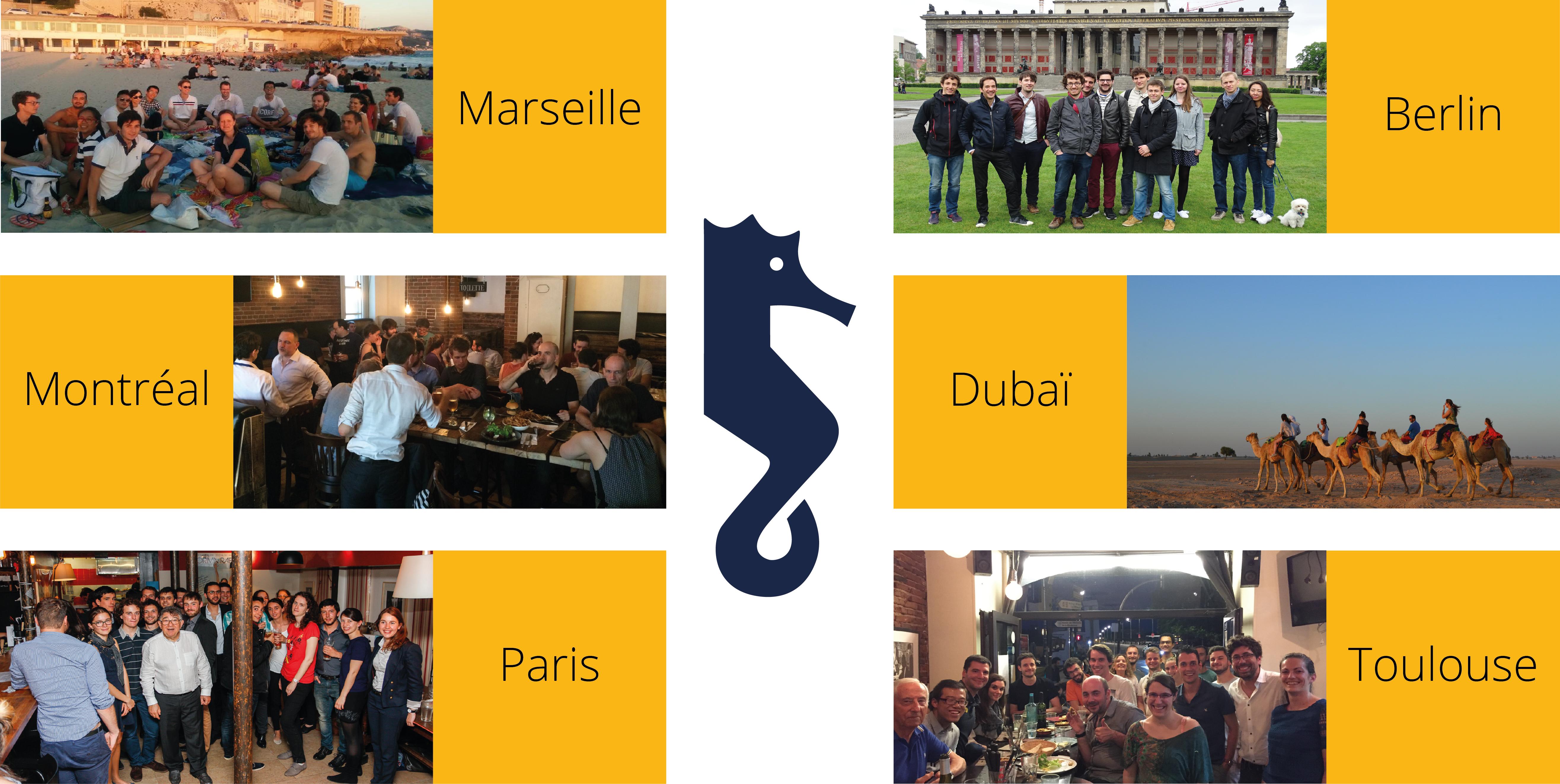 Rencontres Etudiants - Diplômés partout en France et dans le monde autour du jeudi 17 mai 2018
